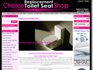Choice Replacement Toilet Seat Shop